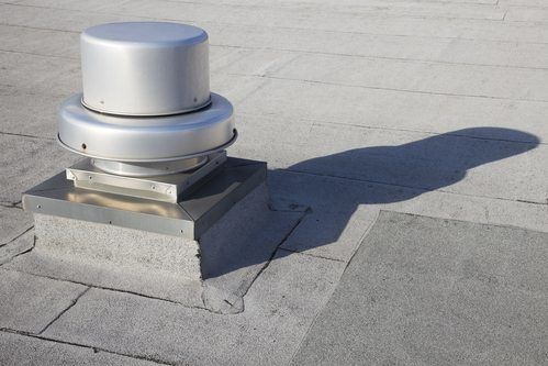 An example of one of your roof ventilation options for your home.
